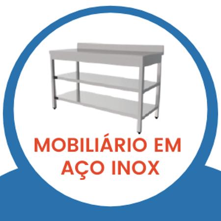 Image de la catégorie Promoção - Linha Mobiliário em aço inox